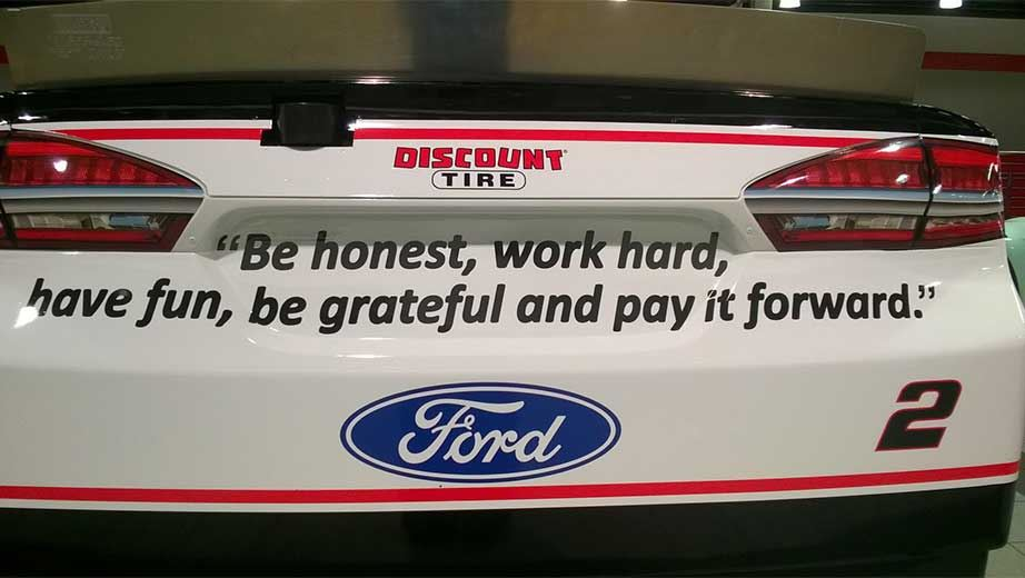 My classroom motto- Be honest, work hard, have fun, be grateful, and pay it forward.